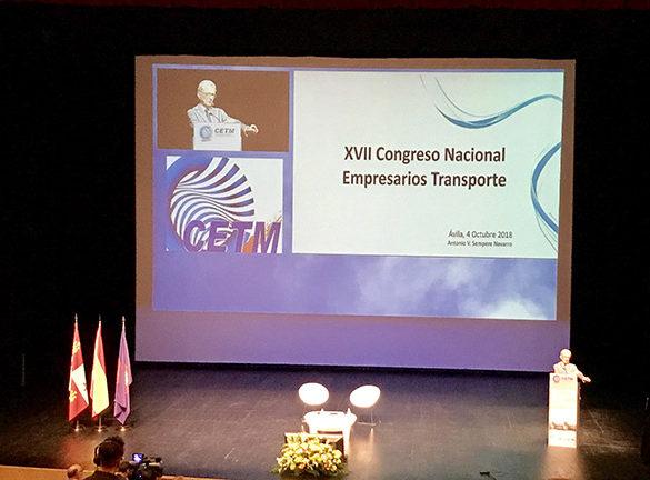 XVII Congreso de la Confederación Española de Transporte de Mercancías (CETM)