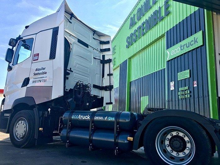 Transformación de vehículos a gas-Ecotruck Services