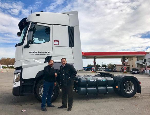 Fenadismer. Ecotruck continúa ayudando a los autónomos del transporte