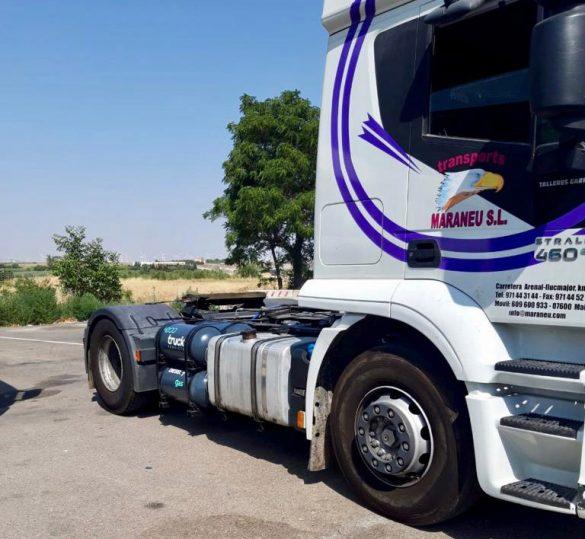 ECOTRUCK transforma a DUAL - GNC Iveco para empresa de Mallorca
