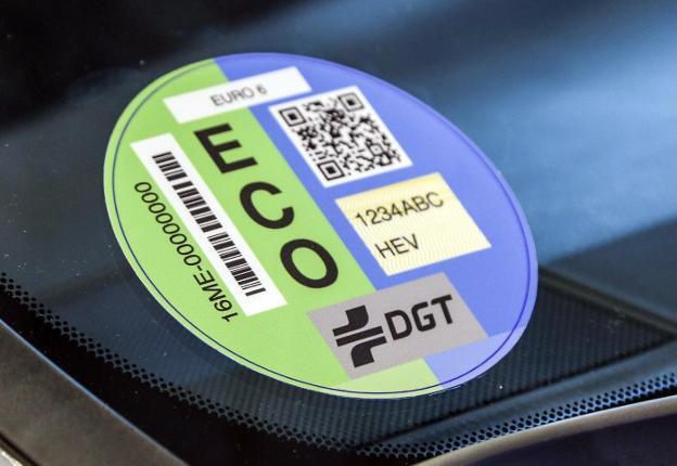 etiqueta ambiental ECO de la DGT