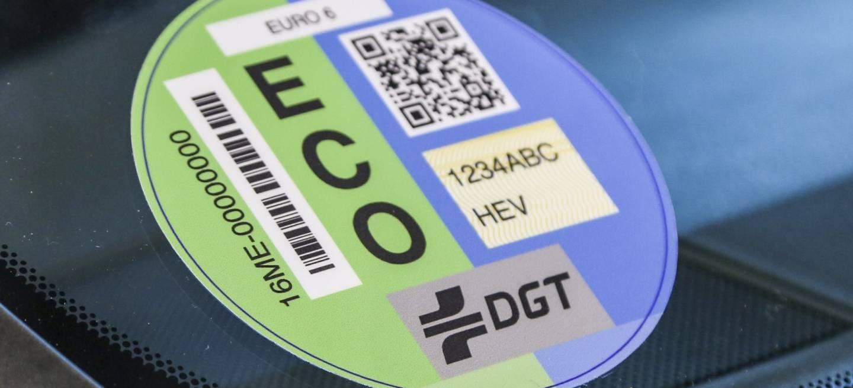 etiqueta dgt eco